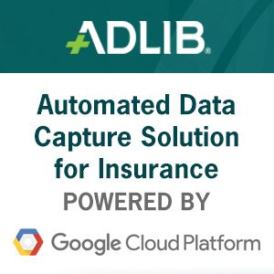 Adlib launches Automated Data Capture solution for Insurance industry on Google Cloud Platform