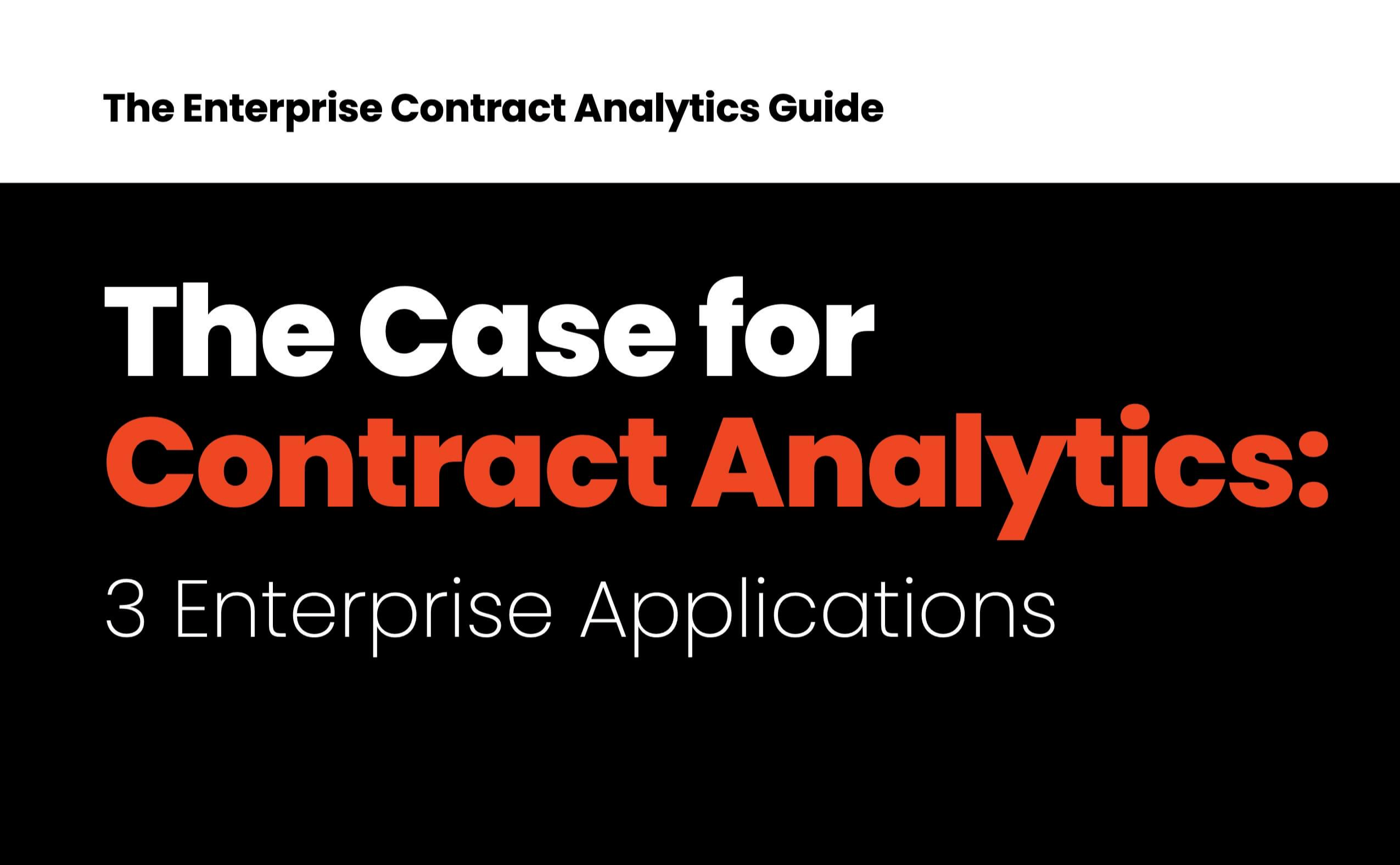 E-Book - The case for Contract Analytics-1