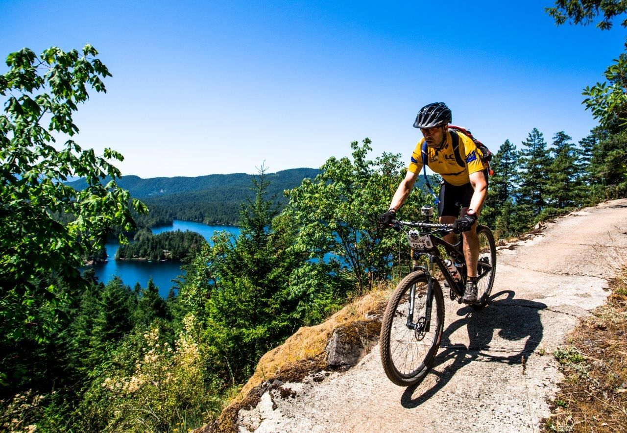 On the Precipice: Peter Duff on Business, Leadership & the Mountain Bike Trail Featured Image