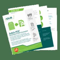 Adlib PDF Brochure