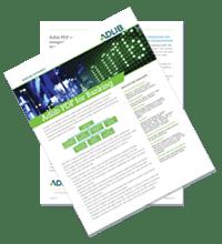 Datasheet: Adlib PDF For Banking