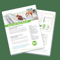 Datasheet: Adlib PDF CAD Module