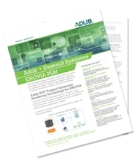 Datasheet: Adlib & Dassault Systèmes ENOVIA