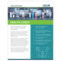 Professional Services Health Check Datasheet