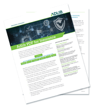 Datasheet: Adlib For Insurance
