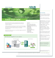 Datasheet: Adlib PDF OEM