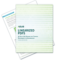 Linearized PDFs - An End-To-End Overview With Technical Requirements For Implementation