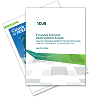White Paper: Financial Services Best Practices Guide
