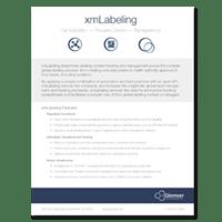 PSC - Glemser - xmLabeling: mlLabeling Datasheet