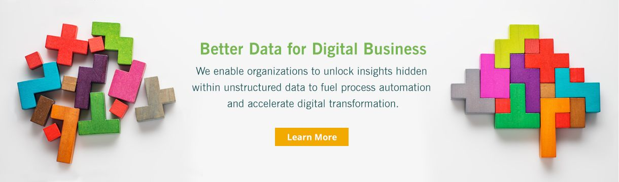Better Data For Digital Buisness