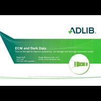Presentation - ECM and Dark Data