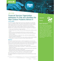 Financial Services Organization Addresses PII Risk and Identifies the Real Content Problems Behind It