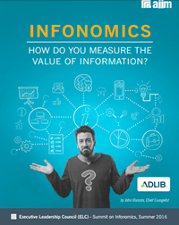 AIIM's Infonomics: How Do You Measure The Value Of Information?