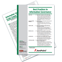 Best Practices In Information Governance