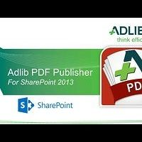 Adlib PDF Publisher for SharePoint 2013 Demo
