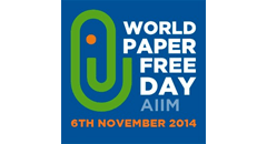 Take the Pledge for AIIM's World Paper Free Day Featured Image