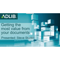 Standardizing Your Content – getting the most value from your documents