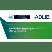 Powering Up Rendering in EMC Documentum