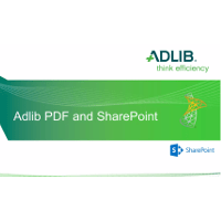 Adlib Demo Video: Adlib PDF for SharePoint