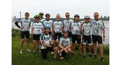 Team Adlib rides 200km on the quest to conquer cancer Featured Image
