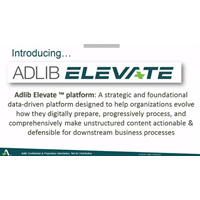 Adlib Elevate™: Elevate your Content. Transform your Business