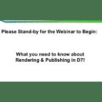 Webinar Presentation: Advanced Document Rendering Changes in Documentum D7