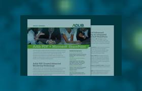 Adlib PDF and Microsoft Sharepoint