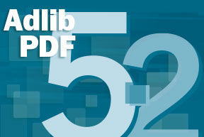Adlib PDF 5.2 Product Launch