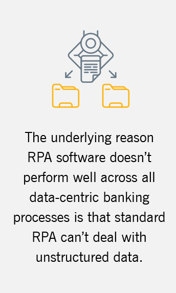 Leveraging unstructured data to fuel RPA proves stronger ROI
