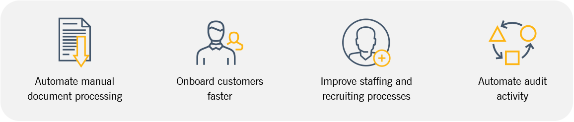 Graphic outlining four key benefits of good data governance