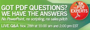 Adlib PDF Answers Session Nov 28 2011