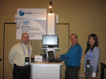 Adlib booth at DSCC 2010