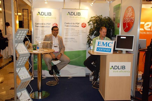 Adlib is EMC Certified in time for Momentum Berlin 2011
