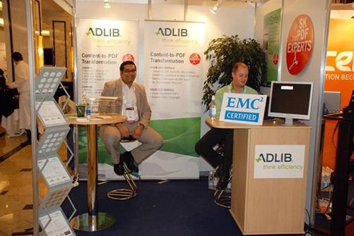 Adlib is EMC Certified in time for Momentum Berlin 2011