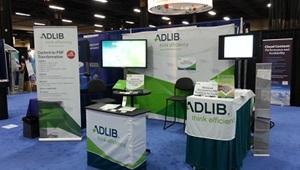 Adlib booth at IBM Information on Demand 2012