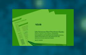 Life Sciences best practices guide CTA