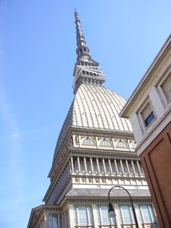 Mole Antonelliana in Turin Italy