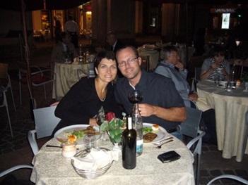 Scott Mackey in Turin Italy