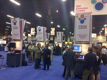 Show Floor at IBM IOD 2011