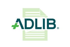 Adlib's Logo with watermark